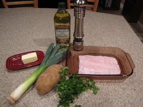 Potato Crusted Fish Ingredients