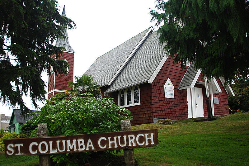 St. Columba Church, Tofino, Vancouver Island, British Columbia