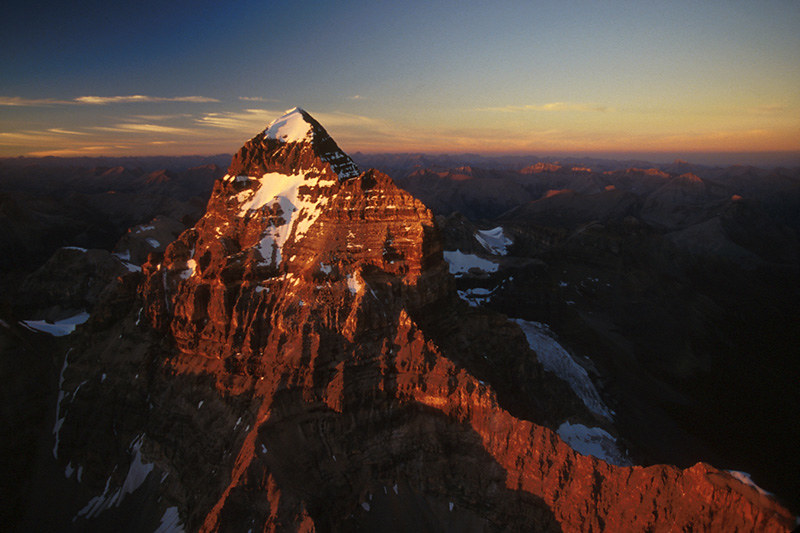 Mount Assiniboine, Mount Assiniboine Provincial Park, Rocky Mountains, British Columbia