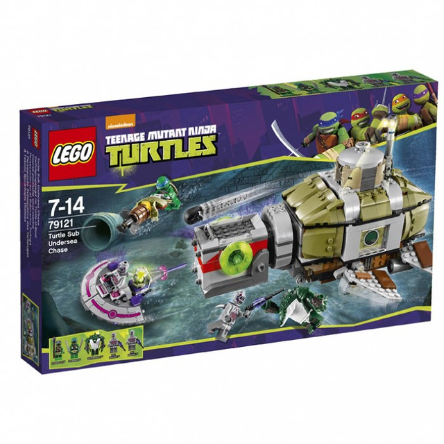 LEGO Teenage Mutant Ninja Turtles 79121 - Turtle Sub Undersea Chase