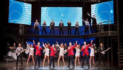 Big girls, don't cry! The Jersey Boys are coming…