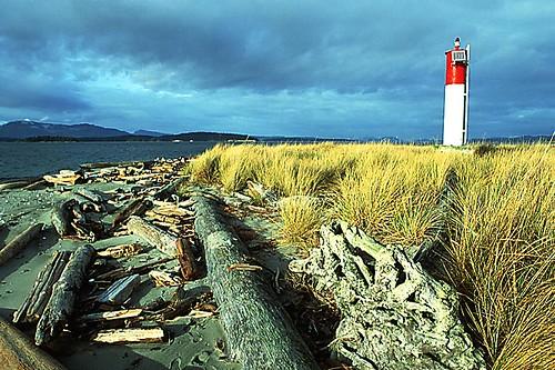 Sidney Spit Marine Park, Sidney Island, Haro Strait, Victoria, British Columbia, Canada