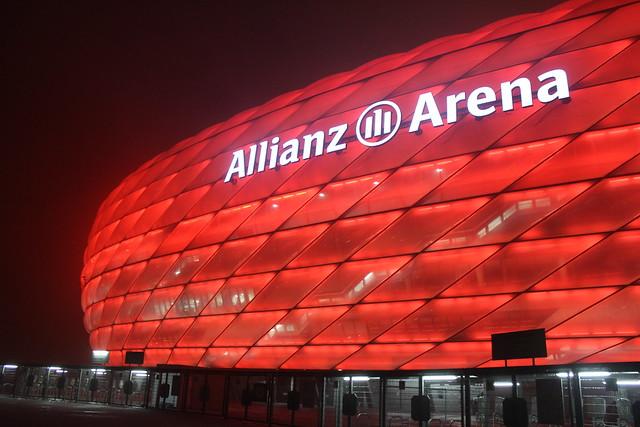 Munich Adidas FC Bayern München Allianz Arena lisforlois