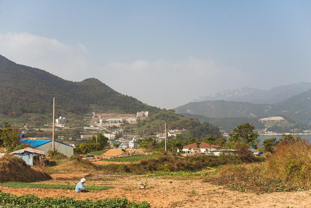 Namhae farmer