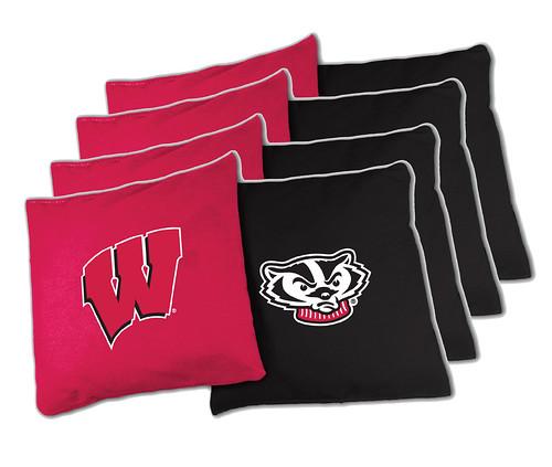 Wisconsin Badgers Cornhole Bags