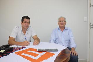 David Martins, presidente estadual, e Luís Piracaia, pré-candidato a deputado estadual pelo Solidariedade