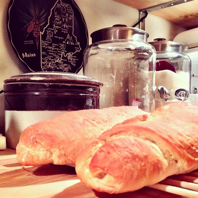 French bread to go with the tortellini soup.