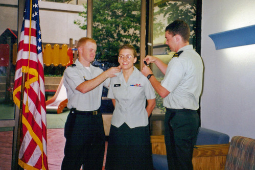 1st Lt. White promotion