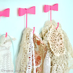 Organised doilies & lace