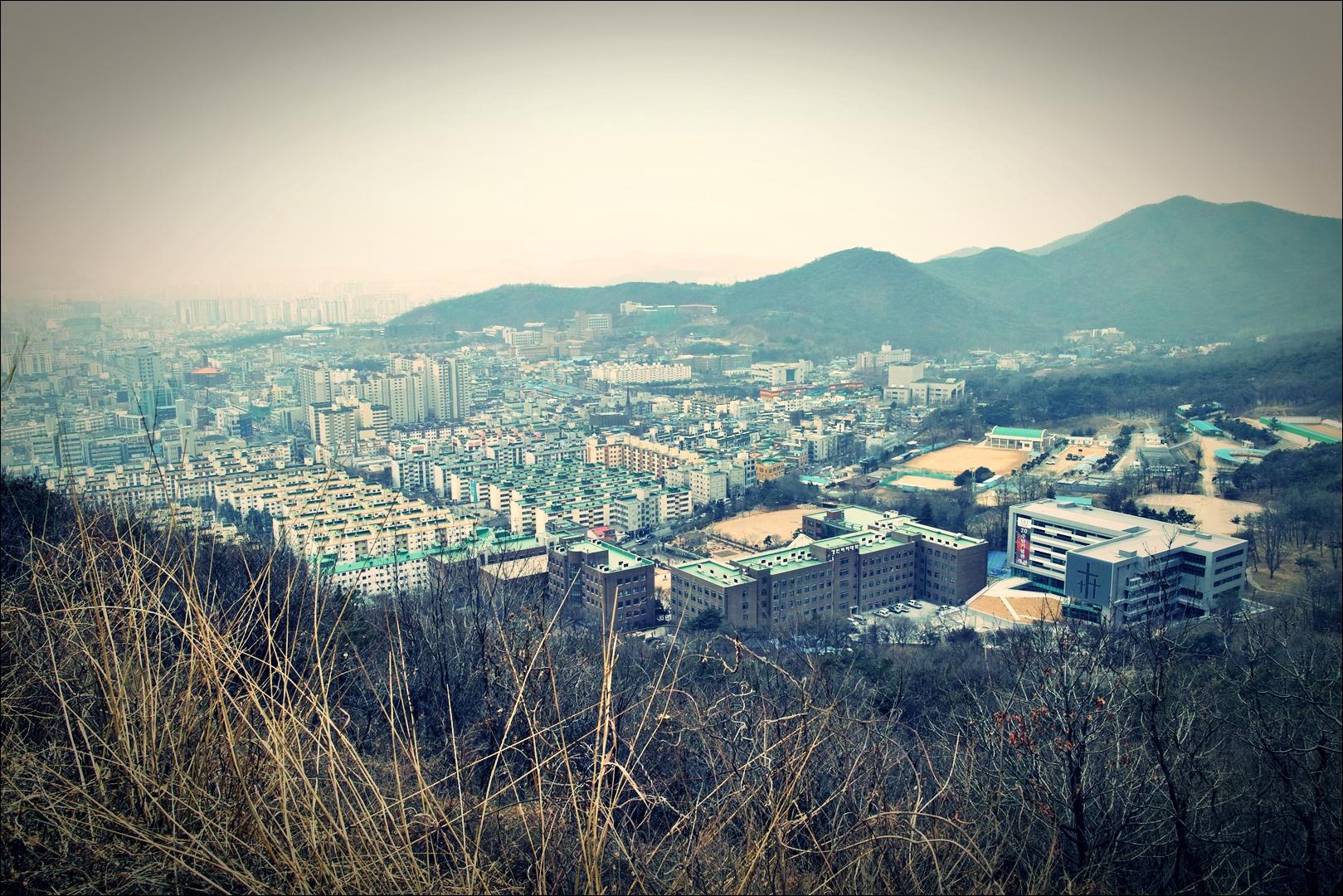 도시 풍경-'인천 계양산'