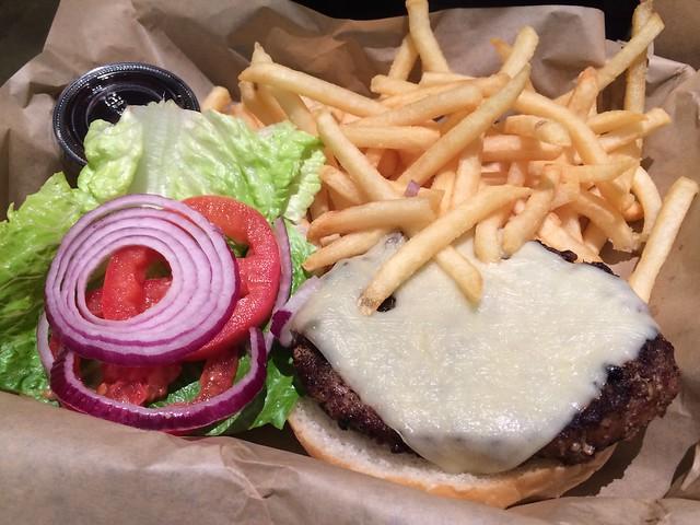 Cheeseburger - Firewood Cafe