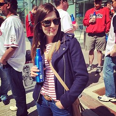 Cheers! Happy opening day! #reds #sshshesreallyapiratesfan