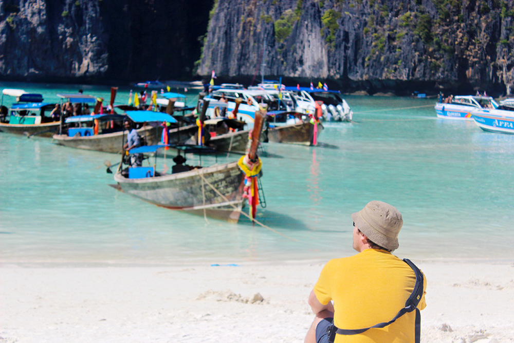 First Choice Out of Office Blogging Competition - Thailand Day Six  - Phi Phi Speed Boat Excursion - UK Travel Blogger