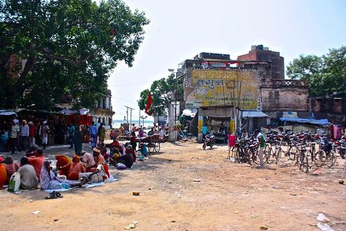Near a Ghat