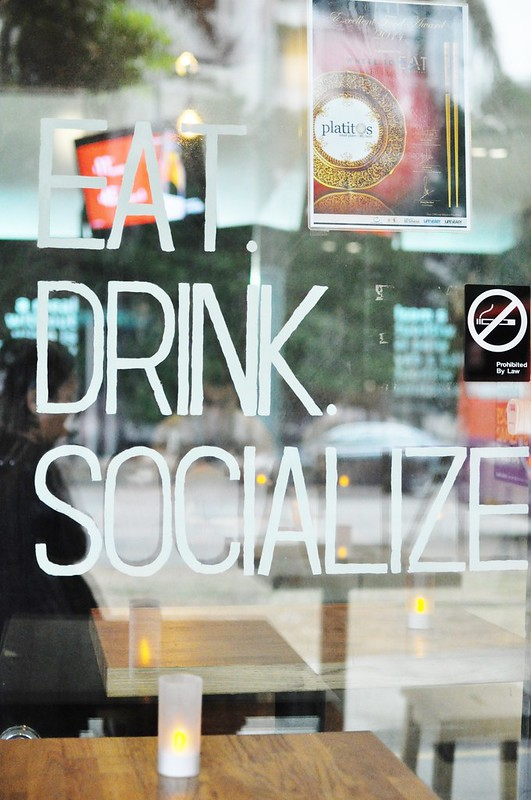 eat drink socialize