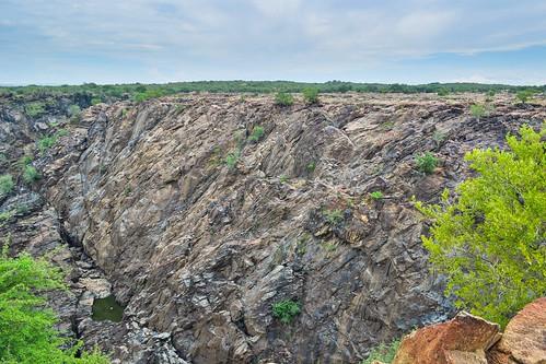 Ruacana falls (dry)