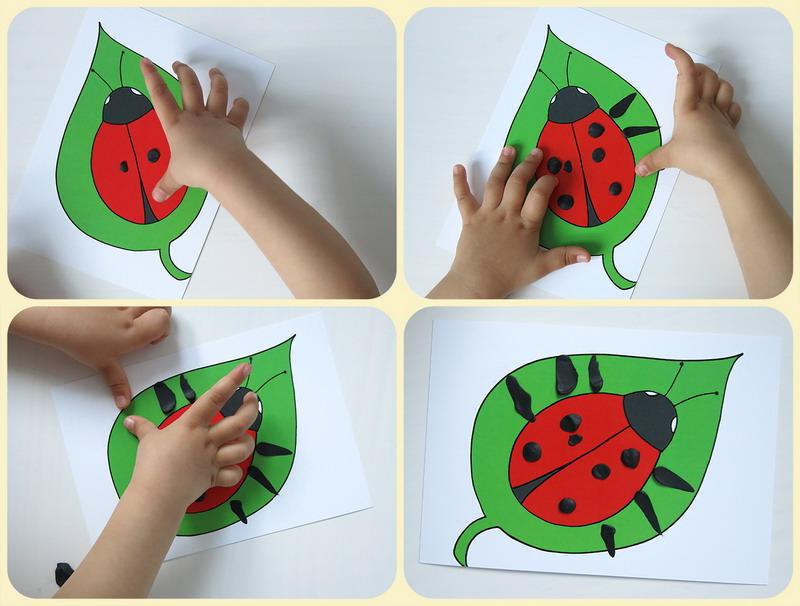 Как делать поделки с ребенком от 1