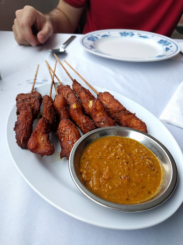 chicken satay @ Andrew's Kampung