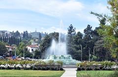 William Mulholland Memorial Fountain, Walter S. Clayberg, Designer, 1940