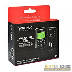 Buy Yongnuo YN-622C E-TTL Wireless Flash Transceiver Kit for Canon At Rs.6,900 Features :- Frequency: 2.4 GHz, Range: 328' Place Order Here :- http://bit.ly/2nfhYSa Cash on Delivery Hassle FREE To Returns Contact # (+92) 03-111-111-269 (BnW) #BnWCollectio