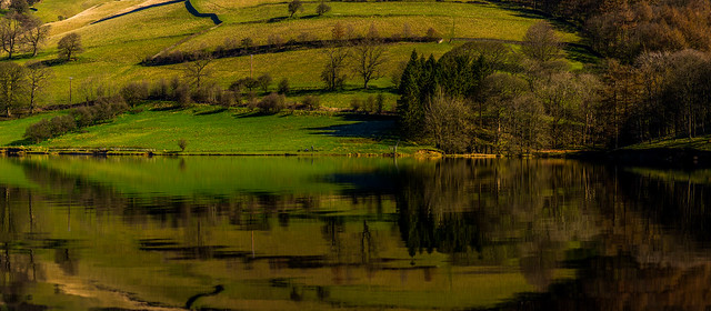 Ladybower Reflections