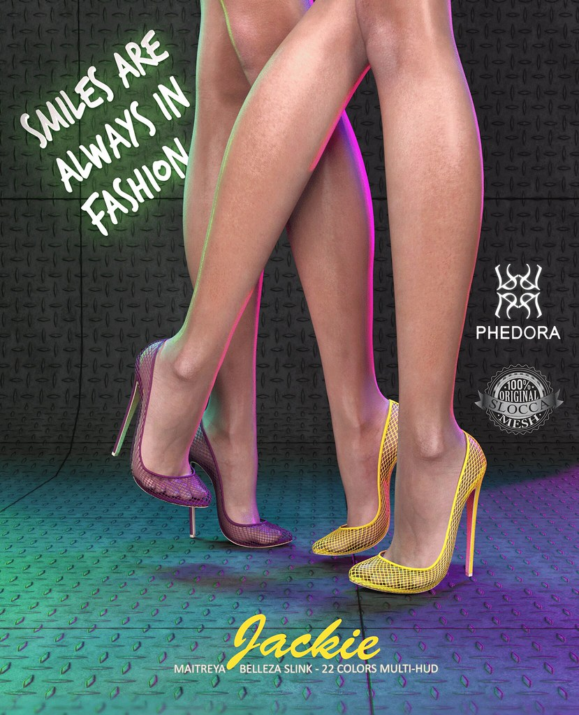 "Phedora for Fameshed- ""Jackie"" heels! - SecondLifeHub.com"