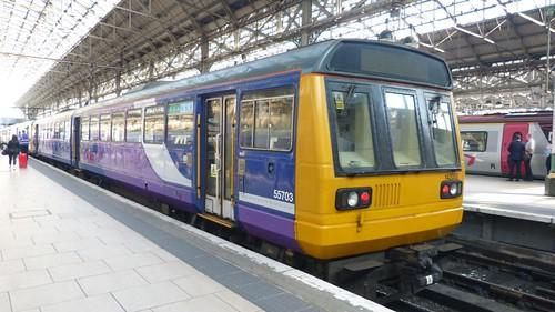 Class142 053 'Northern Rail' Diesel Multiple Unit on 'Dennis Basford's railsroadsrunways.blogspot.co.uk'