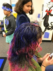 Wacky Hair Day - Read Across America Mar 1, 2017, 8-023