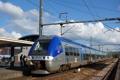 Bombardier AGC n°Z 27514  -  Gare de Lisieux
