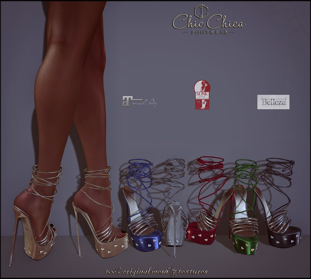 Linsey by ChicChica @ Shoetopia soon! - SecondLifeHub.com
