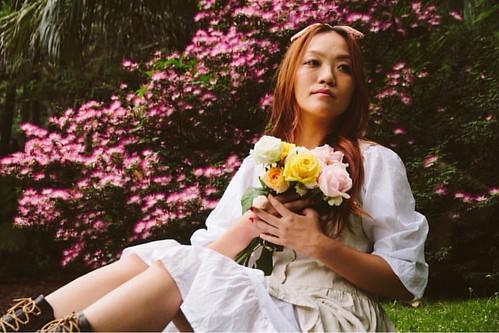 Para um dia mais florido | O que achou? | #woman #ensaio #canon #photoshoot #photography #flowers