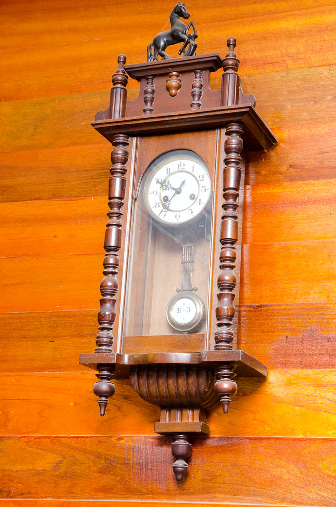 Vintage clock at Ah Ma House 阿嬤的家