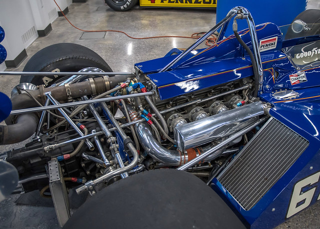 McLaren M-16B, Indianap[olis Motor Speedway Museum, March 2017