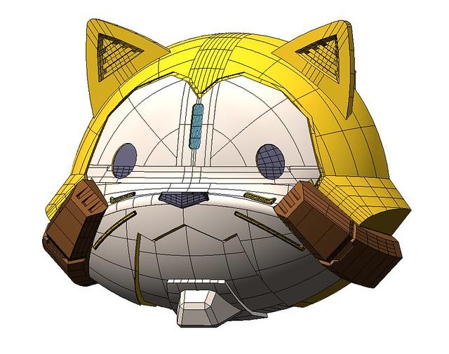 《小浣熊》x《勇者王》夢幻合作!超級迷你盒玩「洗衣王GaoAraiGar」 スーパーミニプラ「洗濯王ガオアライガー」