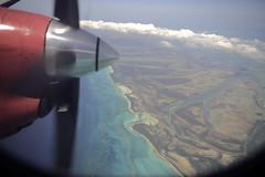 Approaching Treasure Cay
