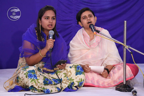 Devotional song by Pihu and Saathi from Bengaluru