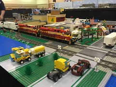 LEGO Trains Part III : Crossing the Road
