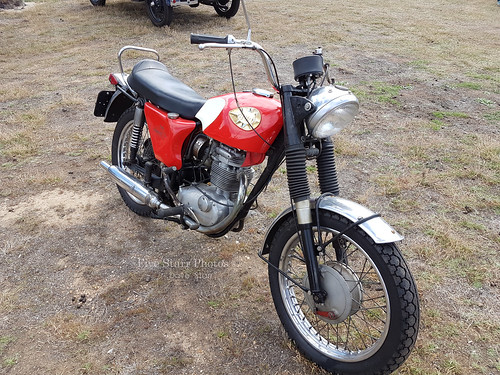 1966 BSA Lighting Motorcycle