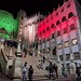 University of Guanajuato illuminated red and green for Flag Day por Ingrid Truemper