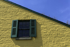 Fort Washington Visitor's Center, detail