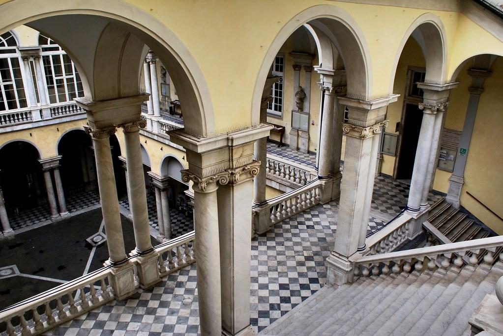 Palazzo Balbi Senarega, siège de l'Université à Gênes.