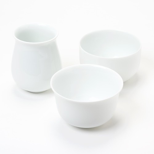 Ensemble de tasses de dégustation de Peter Ting Pure White