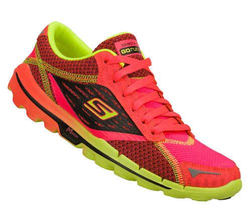 the running enthusiast Skechers GOrun2 PinkLime