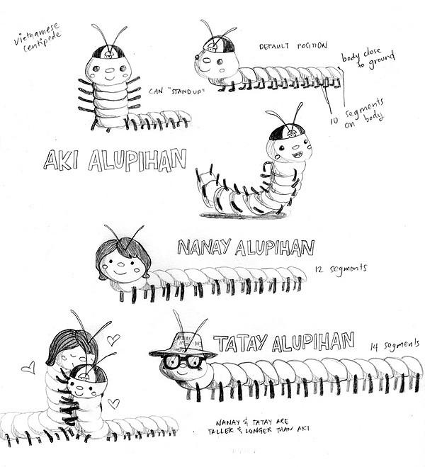 Aki Alupihan (Aki the centipede)