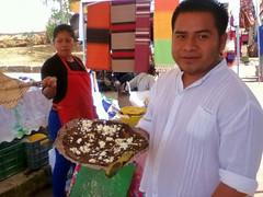 Misael's Tlayuda con Mole Negro, Pochimilco @ Oaxaca 06.2013