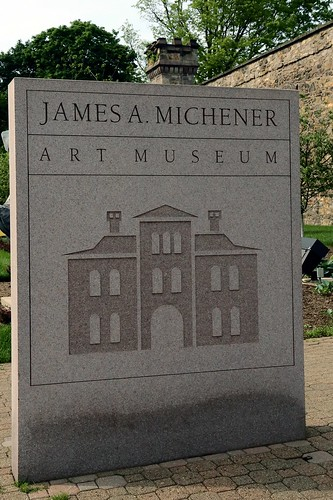 James A. Michener Art Museum Sign