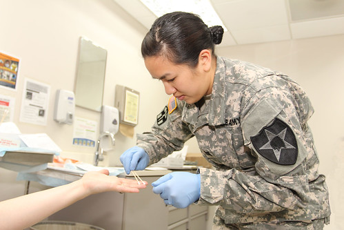 Medical evidence collection - Photo by Army Medicine