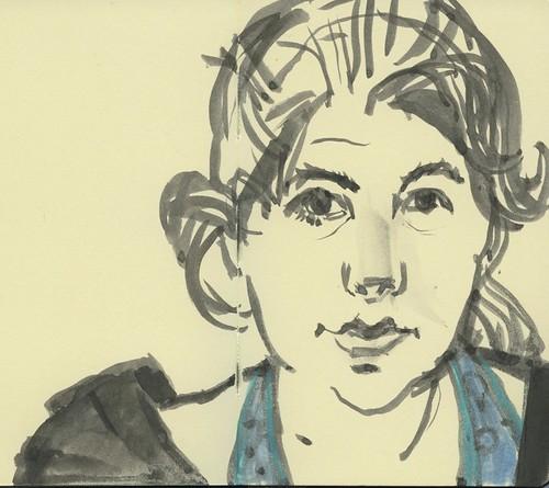 self portrait by Bricoleur's Daughter