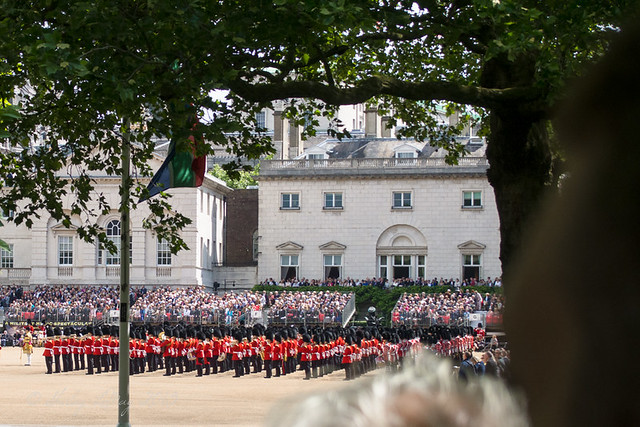 Rehearsal for Trooping of the Colors