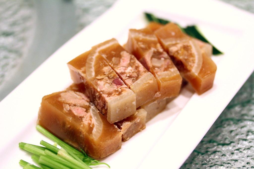 崔华林潮州菜猪蹄冻